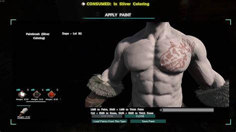 ark survival evolved tattoo warpaint youtube