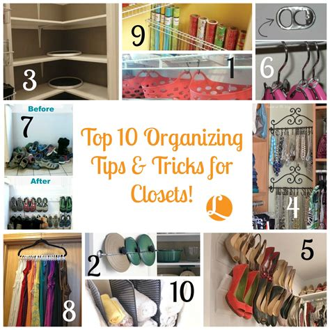 Kitchen Organizing Tricks by Top 10 Organizing Tips Tricks For Closets Living