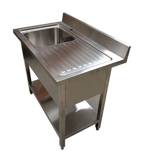 stainless steel deep bowl service sinks 1m commercial stainless steel rhd single bowl sink 600mm