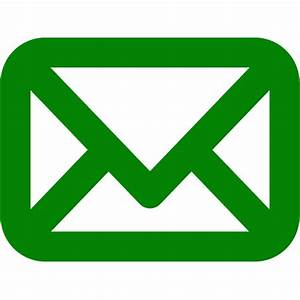 Green mail icon - Free green mail icons