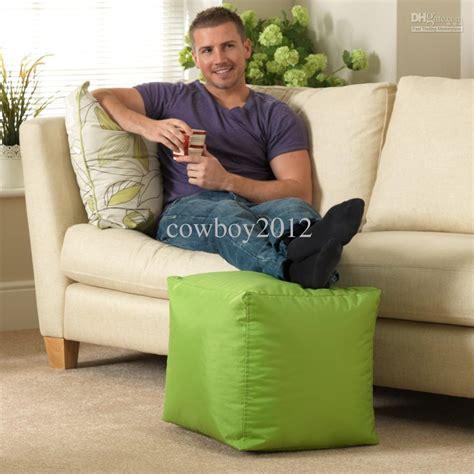 kids bean bag reading chair adults footstool beanbags