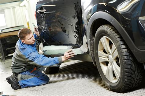Auto Body Paint Repair How To Paint Car Yourself Car