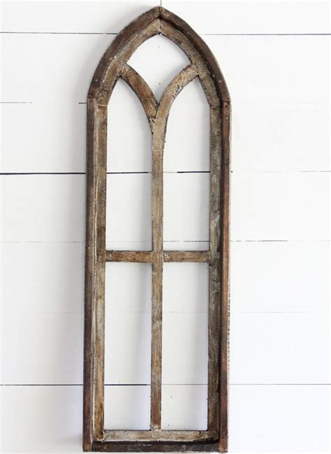 Old window crafts old window projects old window art old window decor antique windows vintage windows wooden windows antique window frames vintage doors. Tall Arched Wooden Window Frame | Antique Farmhouse