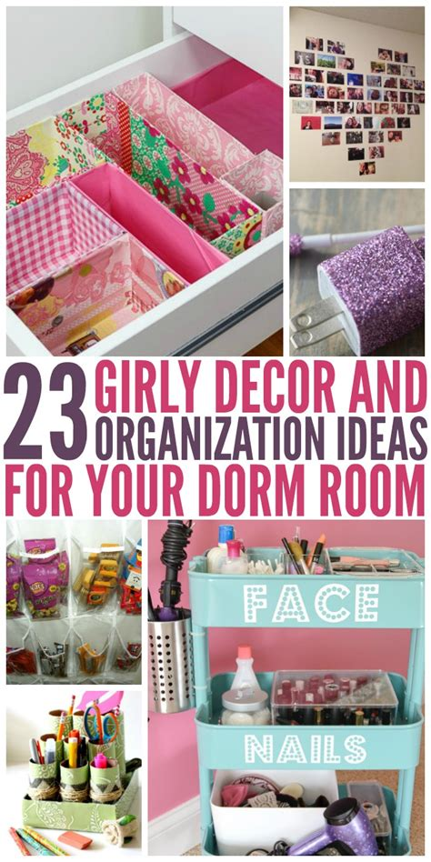 dorm room decor  organization ideas