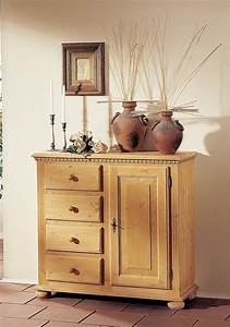 Vintage Kommode Landhausstil : kommode anrichte fichte massiv mediterran romantik antik landhausstil vintage wohnzimmer ~ Indierocktalk.com Haus und Dekorationen