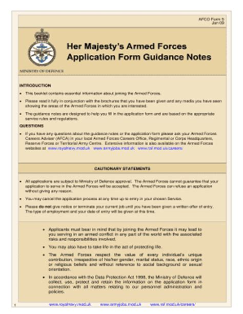 us army application form british army application form download fill online