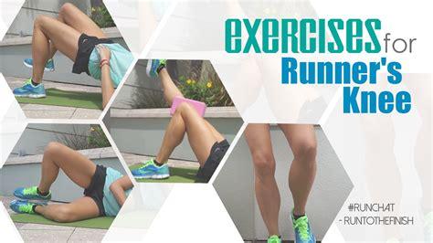 Exercises For Runner's Knee #runchat