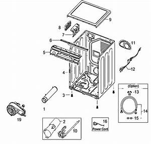 Samsung Model Dv410agw  Xaa Residential Dryer Genuine Parts