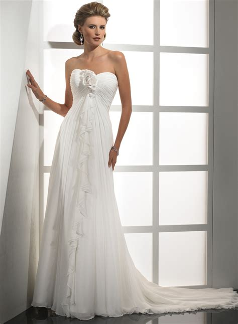 chiffon wedding gown a line chiffon wedding dresses pictures ideas guide to buying stylish wedding dresses