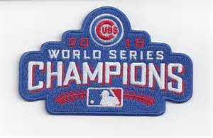 Chicago Cubs World Series Champions