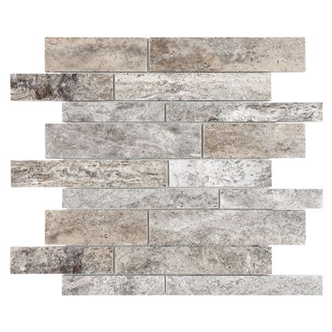 casa antica travertine tile ceramic tiles random mosaic tumbled