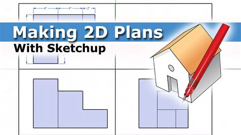 creating  plans  sketchup youtube