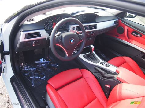 bmw red interior coral red black dakota leather interior 2010 bmw 3 series