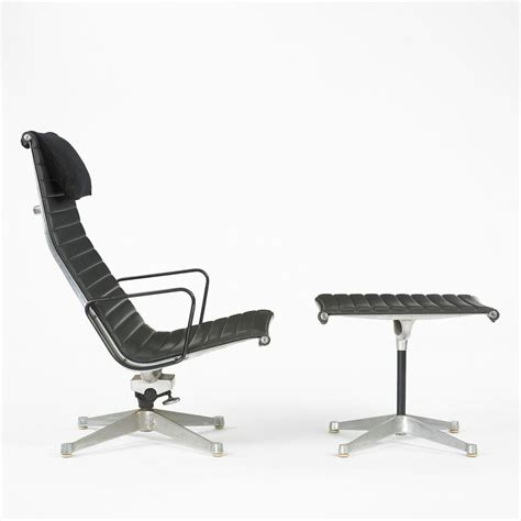 eames aluminum lounge chair and ottoman