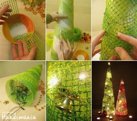 step by step how to make christmas decor how to make custom light decoration step by step diy tutorial