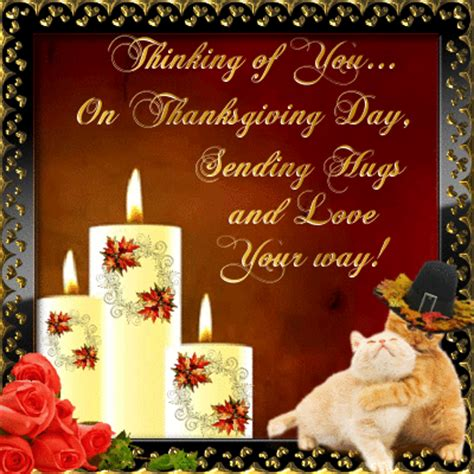 thinking  youon thanksgiving day sending hugs