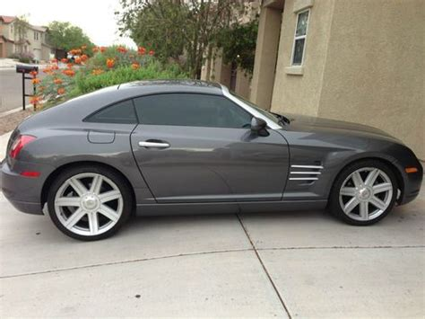 New Chrysler Sports Car by Sell Used Crossfire Crysler 2004 Sport Car Manual 2 Door