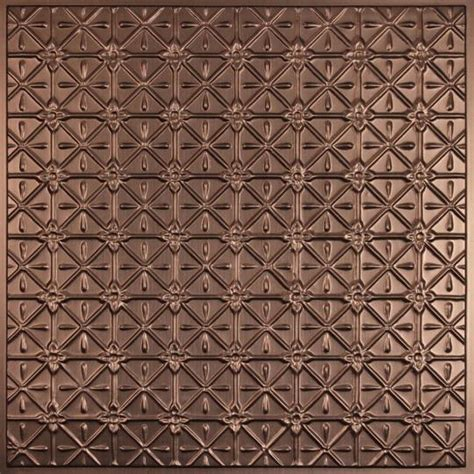 Ceilume Ceiling Tiles by Continental Bronze Ceiling Tiles