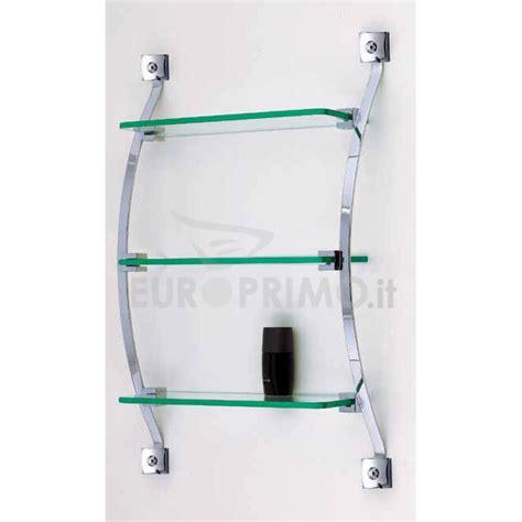 mensole in cristallo ripiani mensola vetro cristallo per bagno design arredo