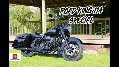 2019 Road King Special 114 First Ride - YouTube