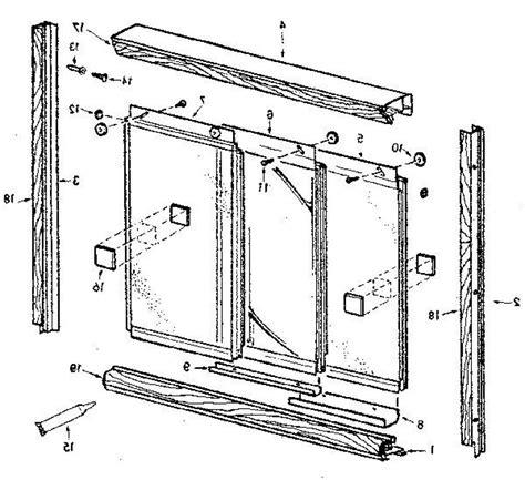 shower door parts basco shower door replacement parts basco shower door