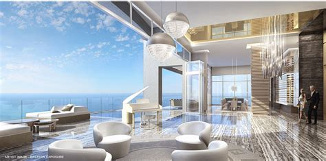 mansions  acqualina luxury oceanfront condos  sunny