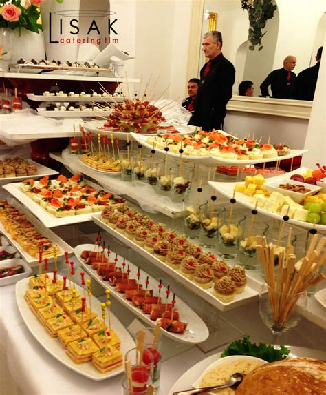 Catering Lisak Fingerfood Buffet Tables And Party