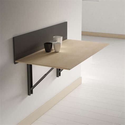 table pliante murale cuisine table pliante murale contemporaine click 4 pieds tables chaises et tabourets