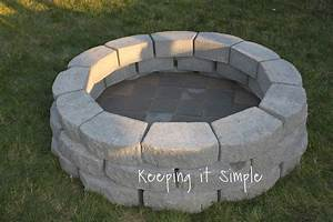 Keeping, It, Simple, How, To, Build, A, Diy, Fire, Pit, For, Only, 60