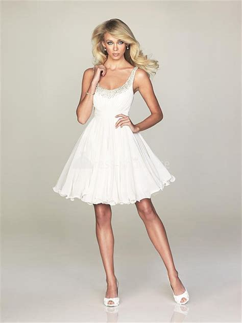 Short White Dresses Can Give You an Appealing Look   Best