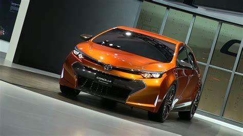 Watch The Toyota Corolla Furia Concept Debut At The