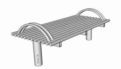 Bench Metal Street Furniture Steel Manufacture Ergonomics