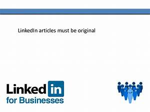 Writing LinkedIn Articles To Build a Professional Social ...