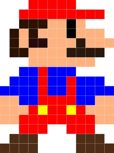 The Great 8 Bit Mario Quilt Adventure Tolmema
