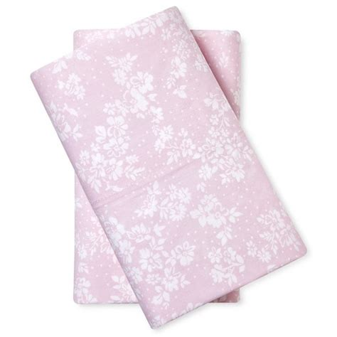 target shabby chic pillow cases pillowcase king pink cashmere simply shabby chic target