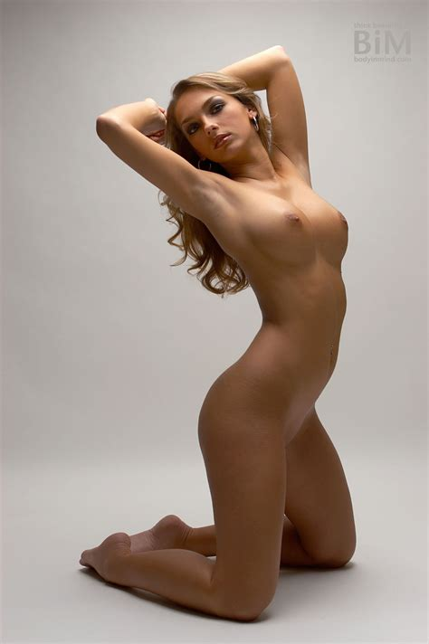 Monika In White Nudes By Body In Mind Erotic Beauties