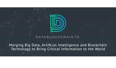 DataBlockChain.io Inks Strategic Partnership Deal with ...