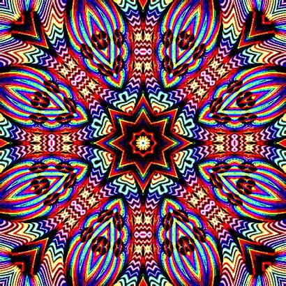 Trippy Psychedelic Gifs Kaleidoscope Animation Animated Fractals