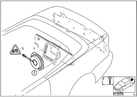 original parts for e46 318ci n46 cabrio audio navigation electronic systems subwoofer hi fi