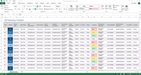 Software Testing Templates  50 Word & 27 Excel