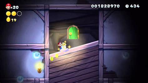 New Super Mario Bros U Wii U Soda Jungle Ghost House