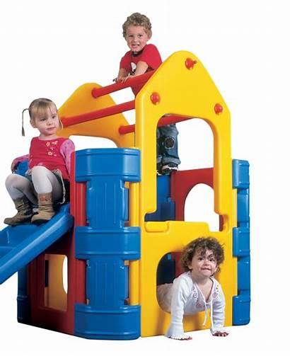 Activity Play Climber Plastic Playground Gym Slide