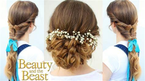 emma watsons belle inspired hairstyles beauty