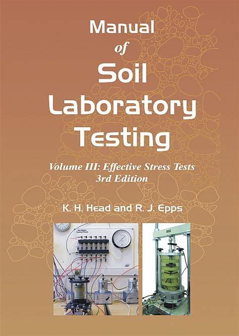 manual  soil laboratory testing vol iii   epps