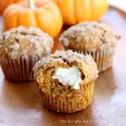 Canned Pumpkin Desserts Easy by Pumpkin Cream Cheese Muffins