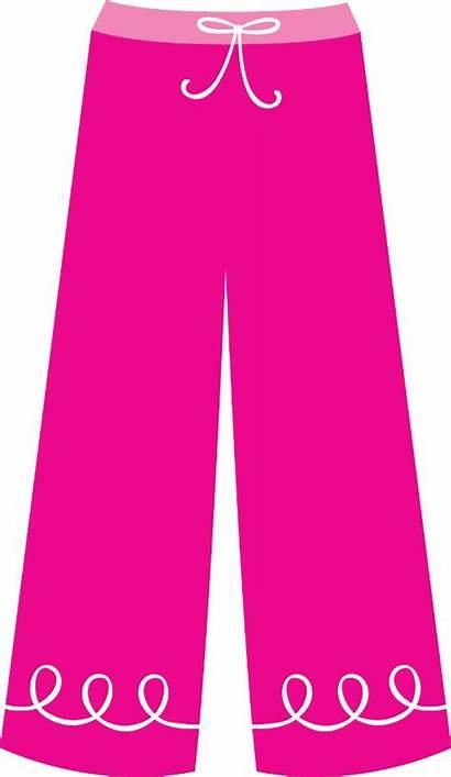 Pants Clipart Clothes Clip Pajama Pajamas Cliparts