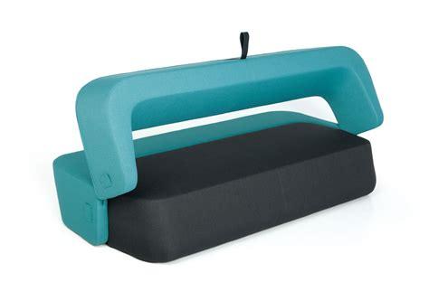 canapé pour chiens canapé convertible revolve 3 places l 210 cm turquoise