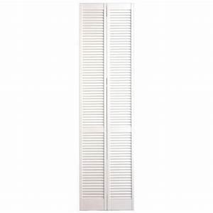 Porte De Placard Lapeyre : placard pliant persienne blanc rangements ~ Dailycaller-alerts.com Idées de Décoration