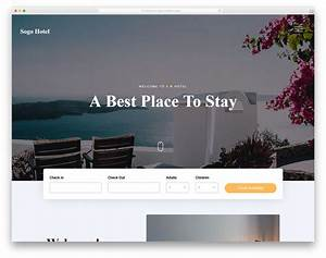 Marimar Free Bootstrap Hotel Website Template 2019 Colorlib