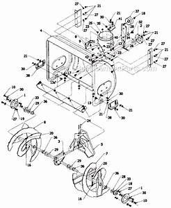 Yard Machines 317e610e000 Parts List And Diagram